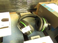 Turtle Beach Ear Force Stealth 700 gaming headphones, tested working for audio only, mic untested.