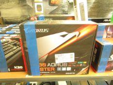 Gigabyte Caorus Z390 Aorus Gaming Motherboard. LGA 1151. Boxed But Untested. RRP œ99.98