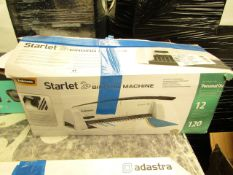 fellowes Starlet 2 binding comb machine, boxed and unchecked