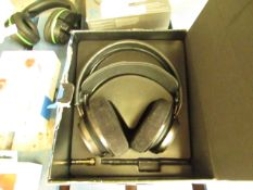 Philips Fidelio X2HR High Resolution Headphones, tested working but does not include AUX, boxed. RRP