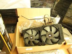 Corsair CW-9060025-ww hydro series all in liquid CPU cooler, unchecked
