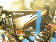 Gigabyte Caorus Z390 Ultra Aorus Gaming Motherboard. LGA 1151. Boxed But Untested. RRP œ236.98