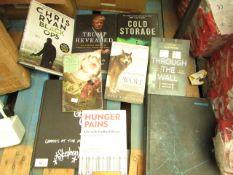 9 Various Books. See image For titles. Looks Unused