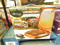 | 1X | GOTHAM STEEL LOW FAT GRILL | UNCHECKED AND BOXED | NO ONLINE RE-SALE | SKU - | RRP £34.99 |