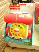 Fisher Price Chatter Telephone. New & Packaged