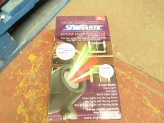 | 1X | STARTASTIC ACTION LASER PROJECTOR | UNTESTED & BOXED | NO ONLINE RE-SALE | SKU - | RRP £19.
