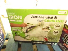 | 1X | LIVINGTON IRON DELUXE | UNTESTED & BOXED | NO ONLINE RE-SALE | SKU - | RRP £50.00 | TOTAL