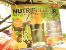 | 1X | NUTRIBULLET RX | UNCHECKED AND BOXED | NO ONLINE RE-SALE | SKU C5060191461238 | RRP £129:99 |