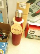 Chillys Leak Proof Flask. Keeps Your Drink Cold For 24 Hours & Hot For 12 Hours. Looks Unused