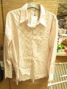 Mango Suit Size Large Womens Shirt. New with tags