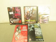 5 x DVD's. See Image For Titles