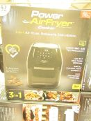 | 1x | POWER AIR FRYER 5.7L | UNCHECKED & BOXED | NO ONLINE RE-SALE | Sku C5060541513068 | RRP £