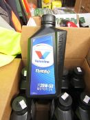 4x 1ltr bottles of Valvoline Turbo 20w-50 motor oil, new