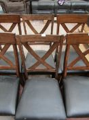 2x Bayside Dinign chairs, a few little marks that could be touched up, but overall good condition