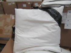 | 1X | FEATHER NIGHTS 50X50CM DUCK FEATHER CUSHION INNER | NEW |