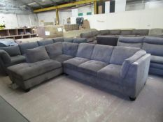 Costco 2 Piece L shaped sofa, appears to be in good condtion overall.