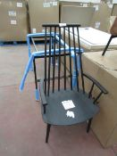 | 1X | HAY J110 HIGH BACK CHAIR IN BLACK | one of the back spindles requires a repair and there