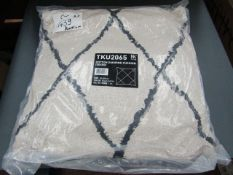 | 1X | HK LIVING DIAMOND CUSHION 50X50CM, NEW AND BAGGED | RRP £29.99 |
