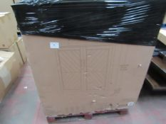 Pike and Main Accent bar cabinet, boxed and completely unchecked, RRP £500