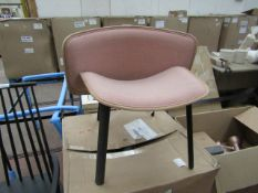 | 1X | HAY DAPPER CHAIR | unused but requires a repair to the back to reattach it to the base |