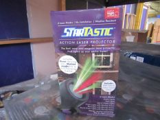 | 5X | STARTASTIC ACTION LASER PROJECTORS | UNCHECKED AND BOXED | NO ONLINE RE-SALE | SKU