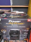 | 7X | POWER AIR FRYER COOKERS 5.7LTR | UNCHECKED AND BOXED | NO ONLINE RE-SALE | SKU