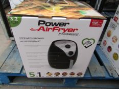 | 1X | POWER AIR FRYER EXPRESS 3.2L | UNCHECKED AND BOXED | NO ONLINE RE-SALE | SKU C5060191469838 |