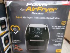   5X   POWER AIR FRYER COOKERS 5.7LTR   UNCHECKED AND BOXED   NO ONLINE RE-SALE   SKU