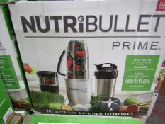 | 5x | NUTRI BULLET PRIME | UNCHECKED & BOXED | NO ONLINE RE-SALE | SKU C5060191464741 | RRP £399.95