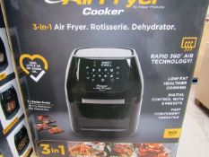 | 5X | POWER AIR FRYER COOKERS 5.7LTR | UNCHECKED AND BOXED | NO ONLINE RE-SALE | SKU