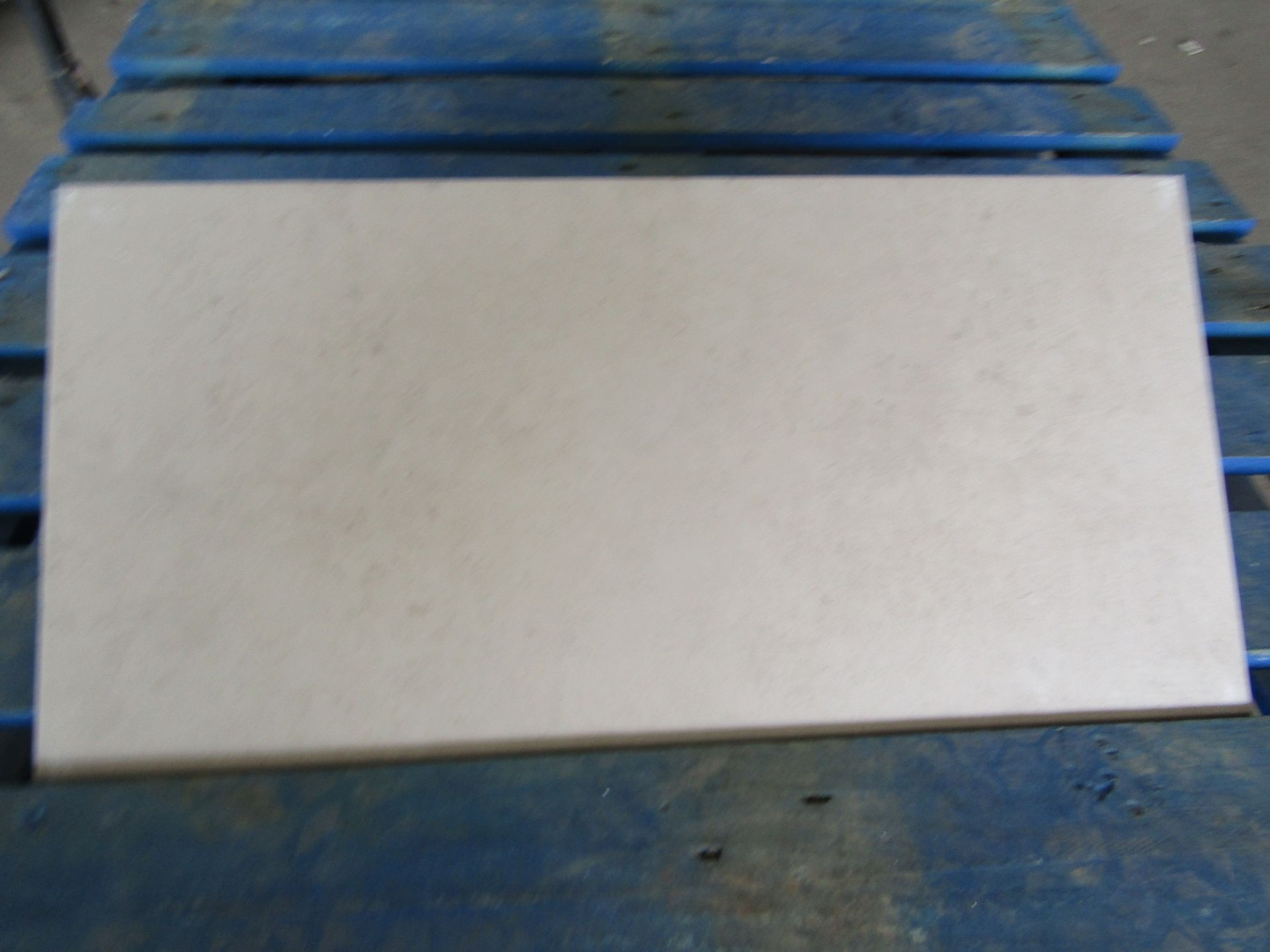 Pallet of 40x Packs of 5 Natural Mink Matt Finish 300x600 wall and Floor Tiles By Johnsons, New, the