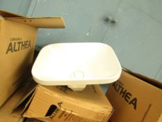Althea Cermica 45cm built in basin, new and boxed