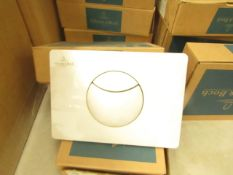 Villeroy and Boch flush plate, new and boxed.
