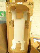 Roca Carla LV 1700x700 steel bath, new, comes with feet and bath handles, no tap holes