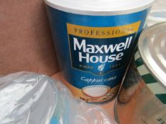 750g Maxwell House cappuccino. BB 23/07/2021