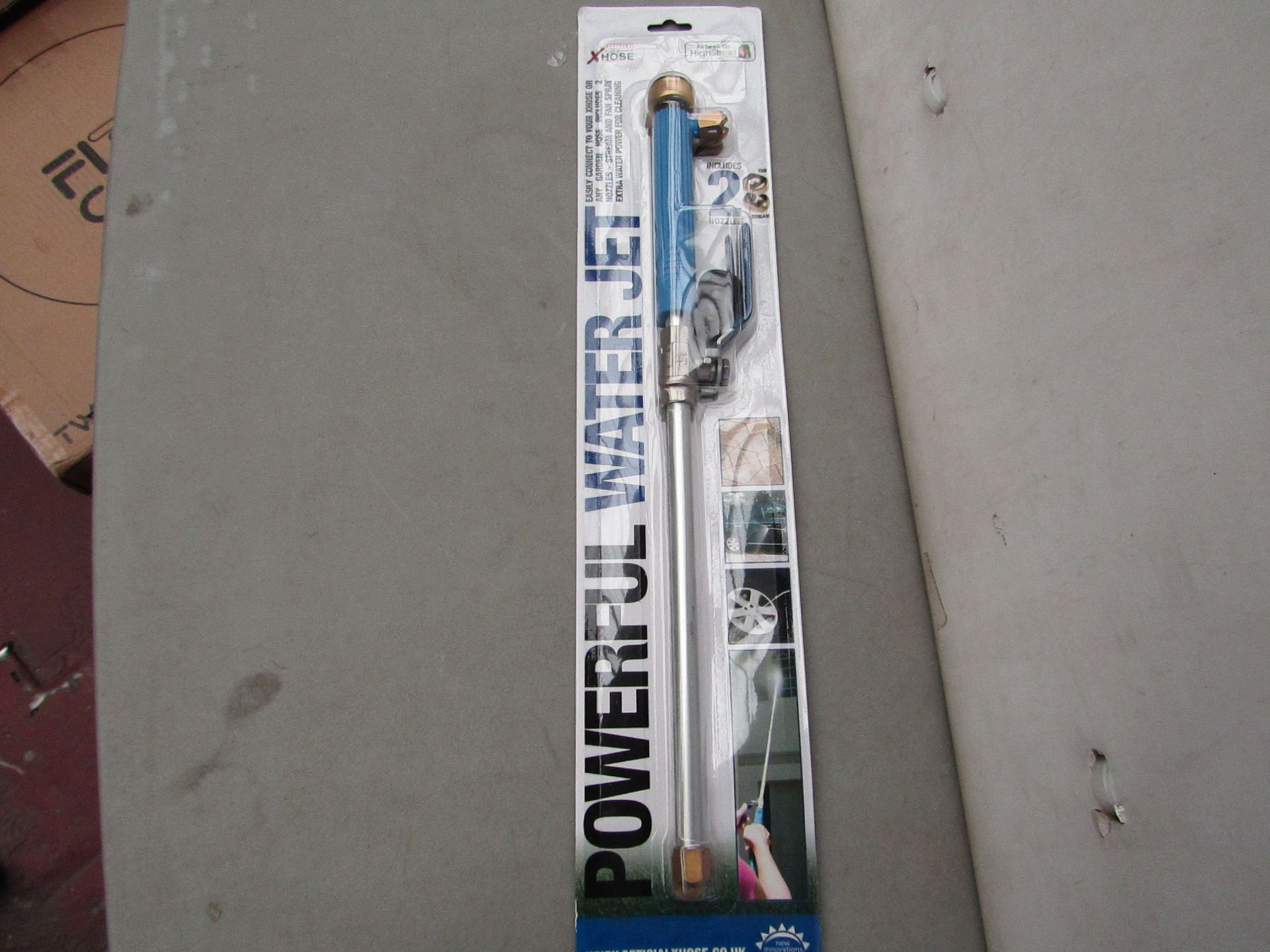 Lot 9 - | 1x | XHOSE POWERFUL WATER JET ACCESSORY | NEW | NO ONLINE RESALE |