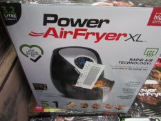 | 1X | POWER AIR FRYER 3.2L | UNCHECKED AND BOXED | NO ONLINE RE-SALE | SKU 5060191468053| RRP £79.