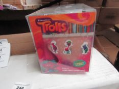 3x Trolls string lights, new and boxed.