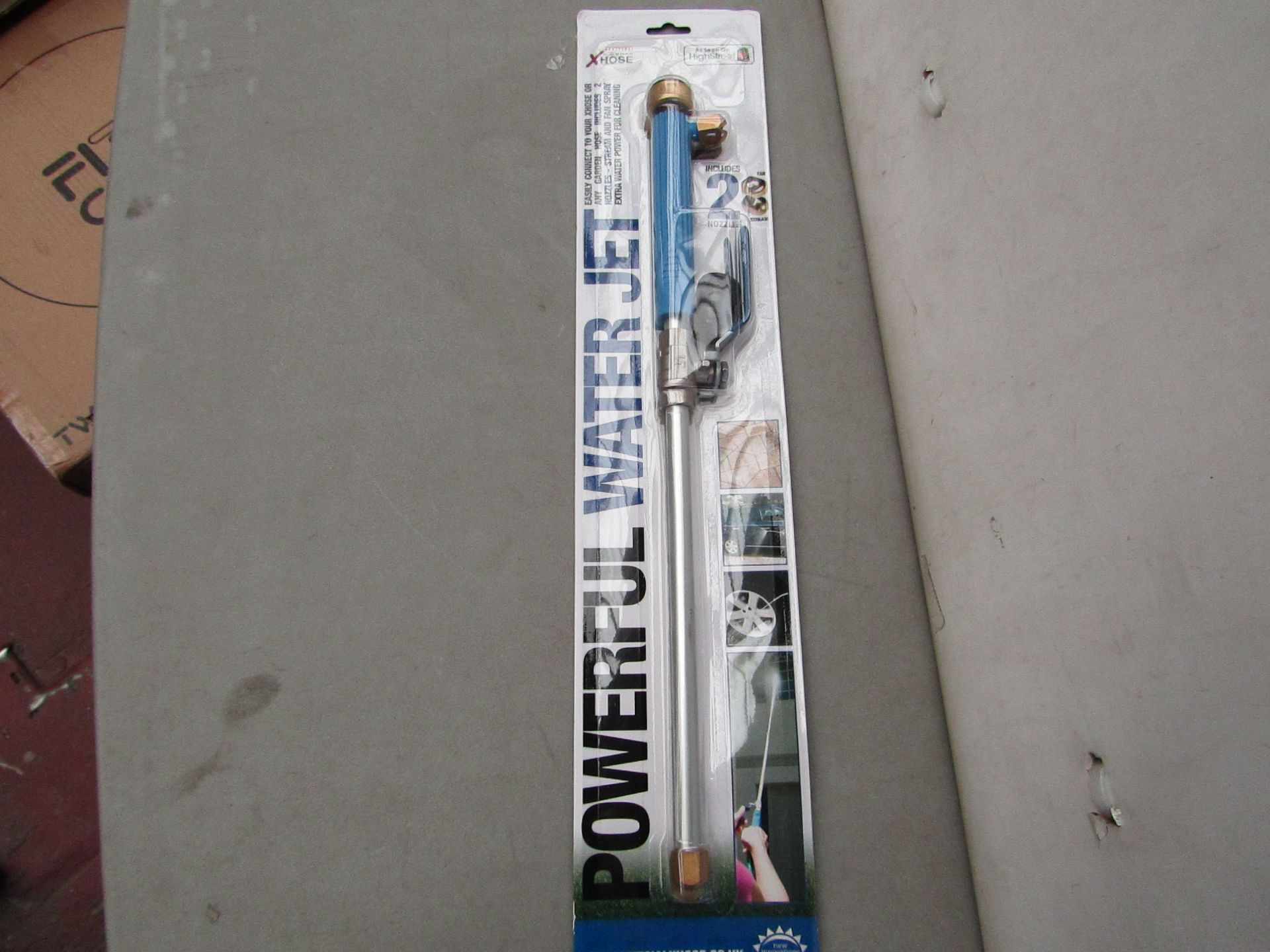 Lot 8 - | 1x | XHOSE POWERFUL WATER JET ACCESSORY | NEW | NO ONLINE RESALE |