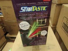 | 1X | STARTASTC LIGHT PROJECTOR | NEW AND BOXED | NO ONLINE RE-SALE | SKU C5060191465304 | RRP £