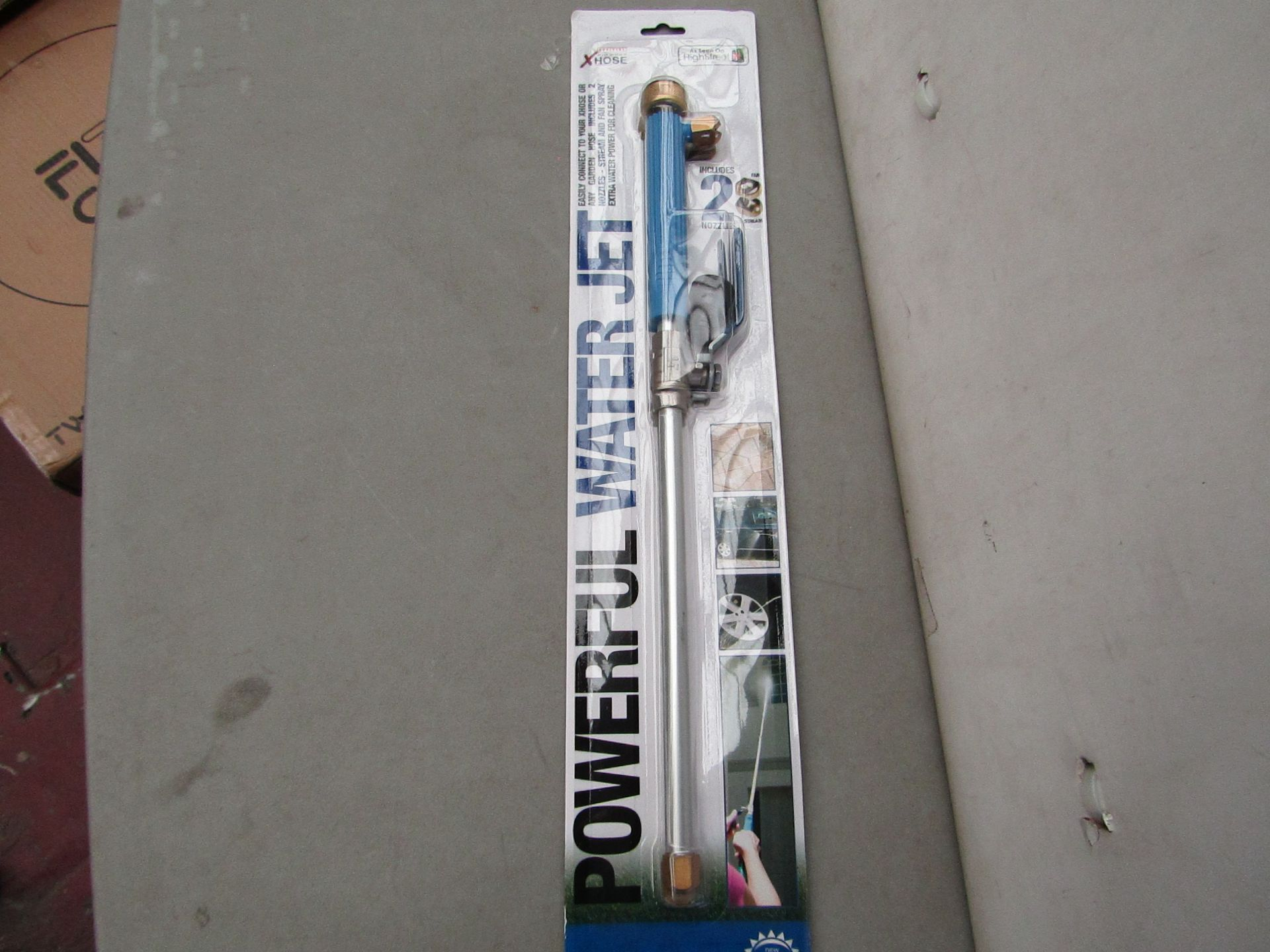 Lot 6 - | 1x | XHOSE POWERFUL WATER JET ACCESSORY | NEW | NO ONLINE RESALE |