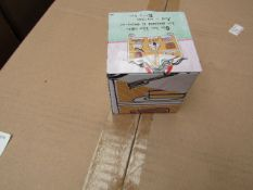 72x A Curly Girl Design small storage tin, new and boxed.