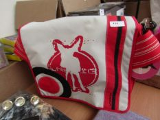 Lassig Baby Changing messenger Bag with baby changing mat and insulated bottle bag included, RRP £60