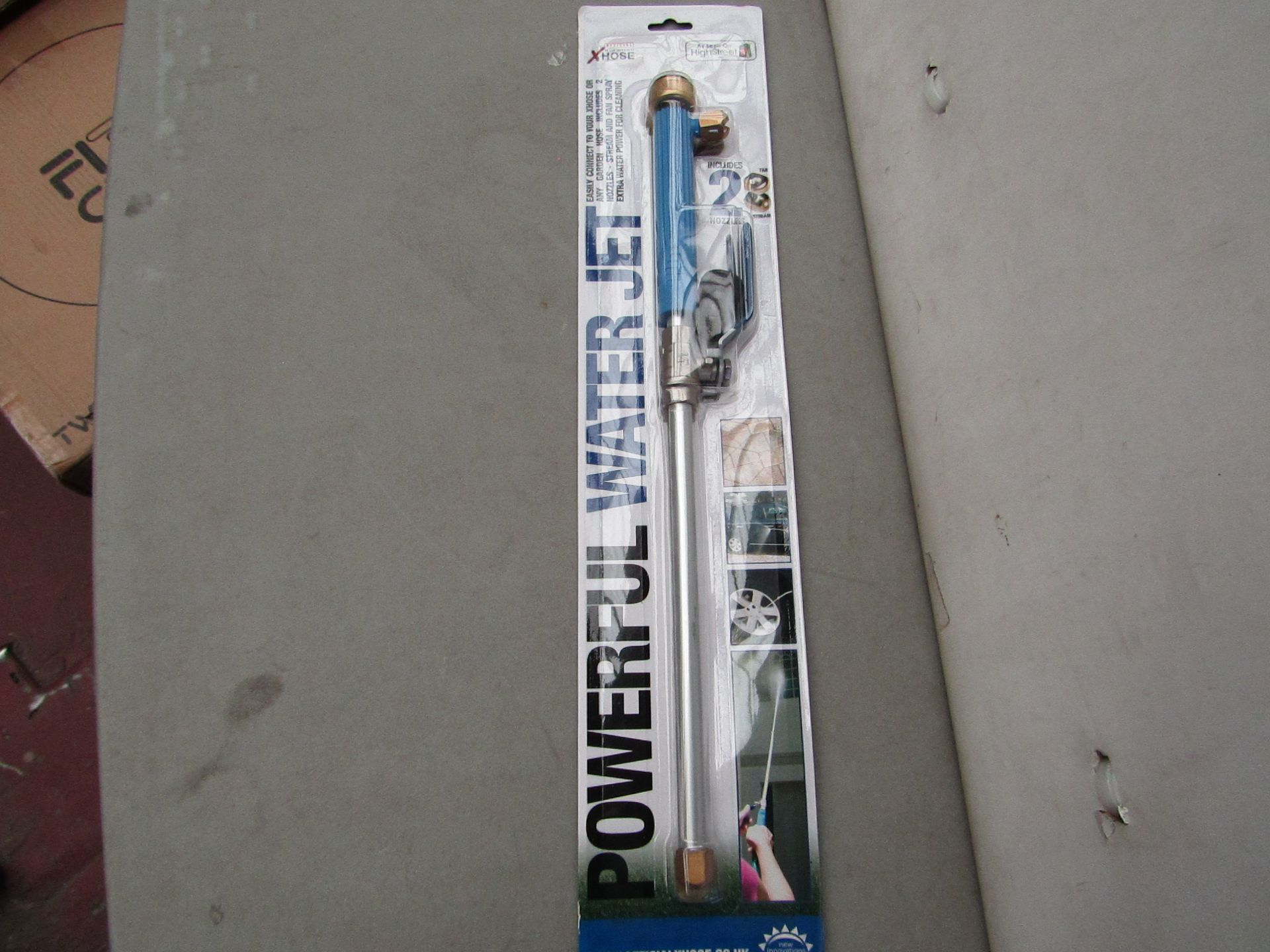 Lot 10 - | 1x | XHOSE POWERFUL WATER JET ACCESSORY | NEW | NO ONLINE RESALE |