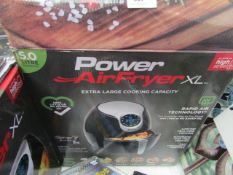 | 1X | POWER AIR FRYER 5L | UNCHECKED AND BOXED | NO ONLINE RE-SALE | SKU 5060191466936| RRP £99.