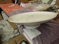 2x Single tier cake stands, new and boxed.