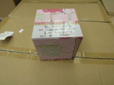 48x A Curly Girl Design storage tin, new and boxed.