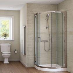 Bulk Shower splash panel kits in Sandstone