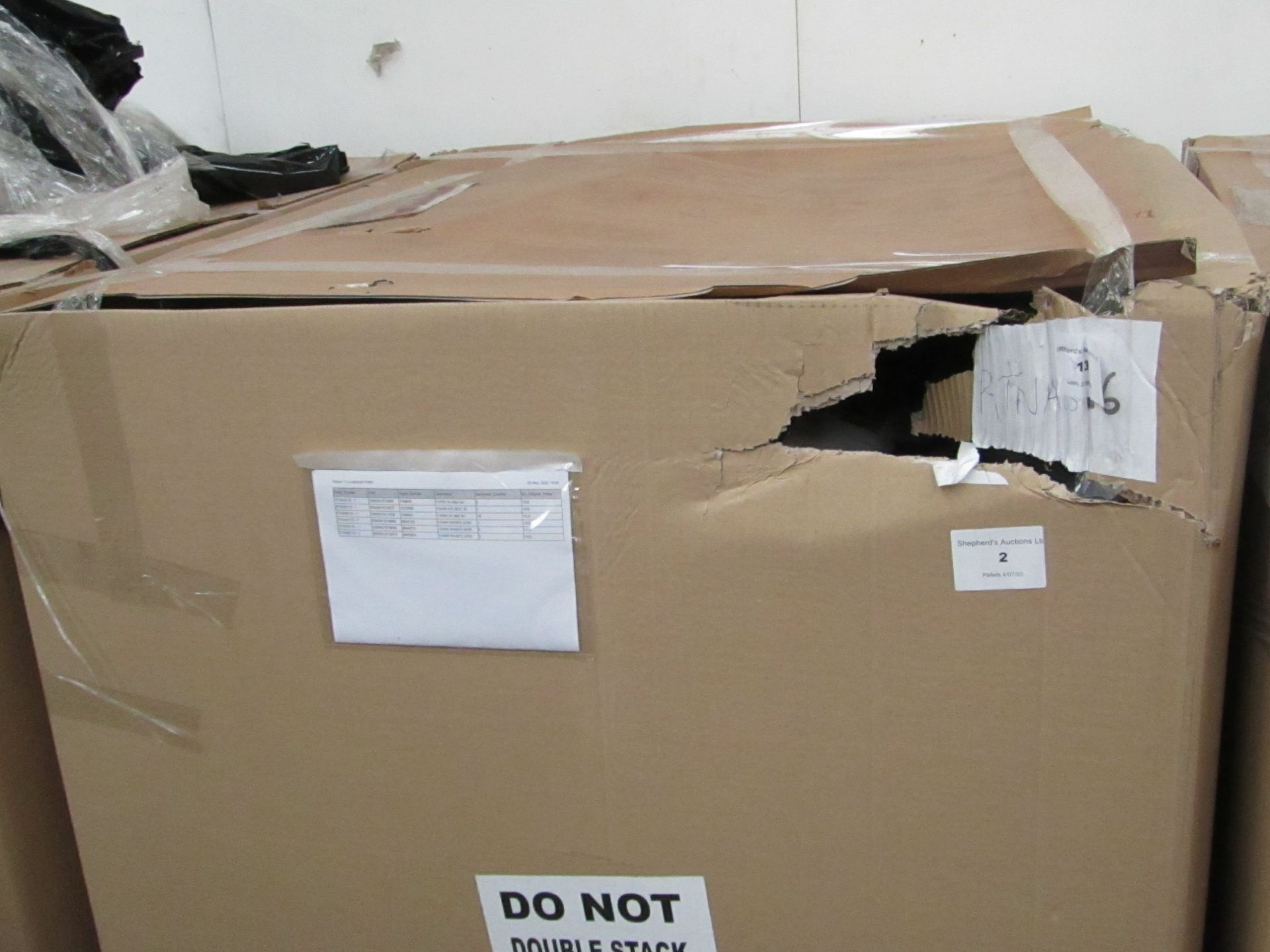 | 1x | PALLET OF APPROX 36 AIRBEDS | UNCHECKED CUSTOMER RETURNS | REF RTNAB116 | please note that