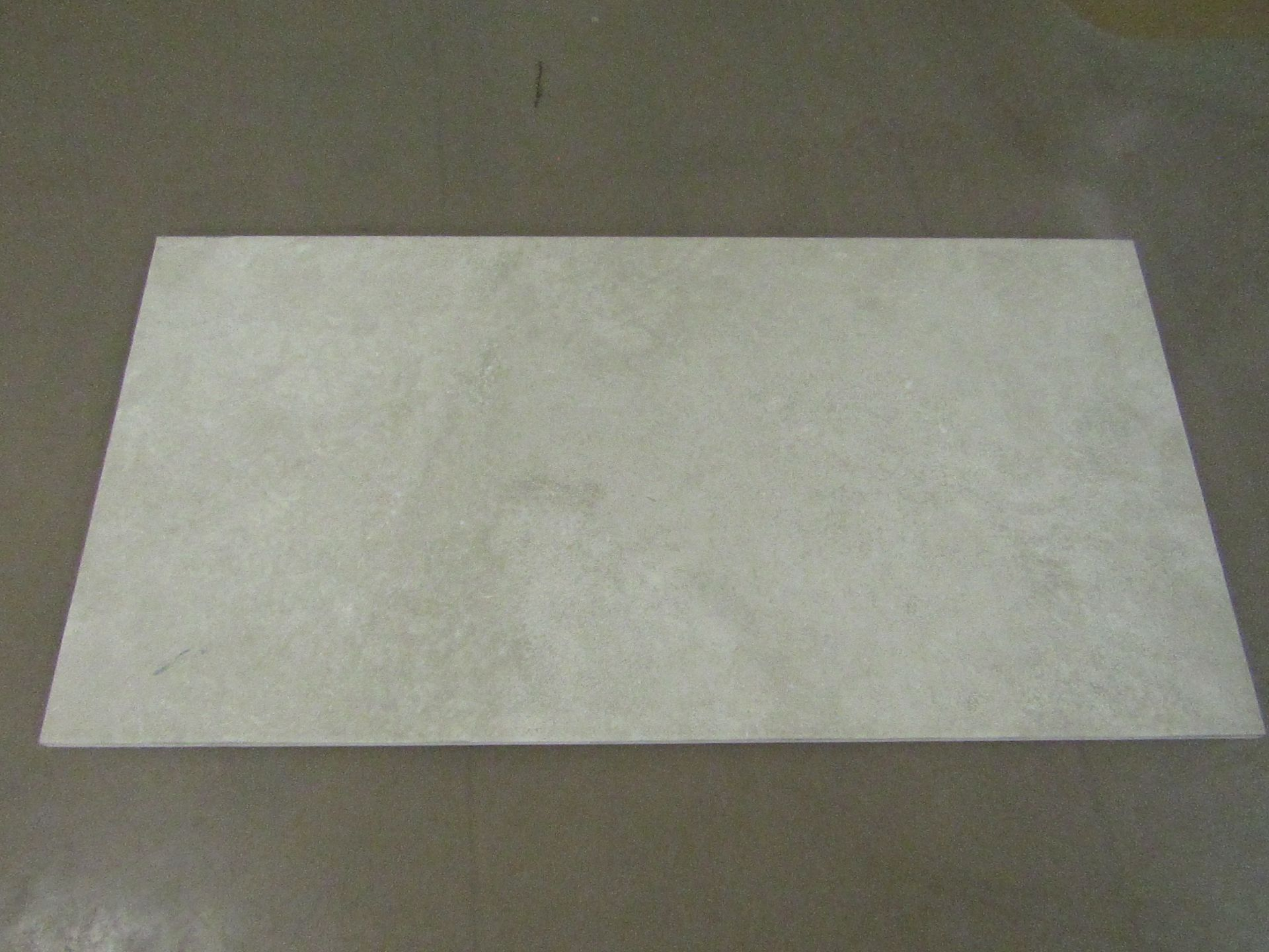 Pallet of 40x Packs of 5 Cambridge Old Stone textured 300x600 wall and Floor Tiles By Johnsons, New,